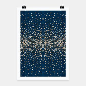 Miniatur Solstice Shimmer Confetti Poster, Live Heroes