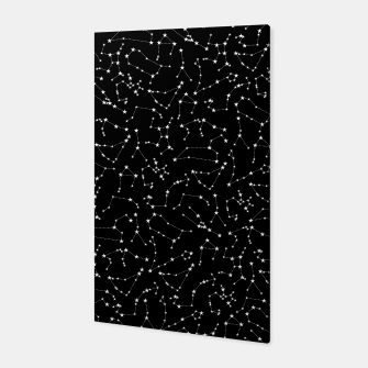 Thumbnail image of Zodiac Star Constellations Pattern Canvas, Live Heroes