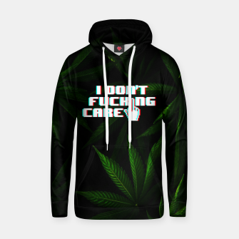Miniatur I DON'T CARE Hoodie, Live Heroes