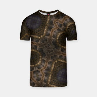 Thumbnail image of The Map Of Sidigri T-shirt, Live Heroes