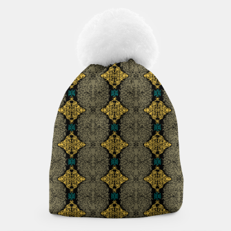 Thumbnail image of Brahma Play Pattern - Martini Olive Beanie, Live Heroes