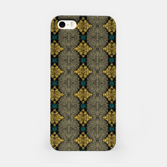 Thumbnail image of Brahma Play Pattern - Martini Olive iPhone Case, Live Heroes