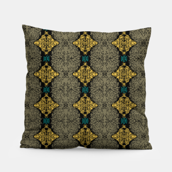 Thumbnail image of Brahma Play Pattern - Martini Olive Pillow, Live Heroes