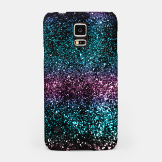 Thumbnail image of Tropical Summer Night Lady Glitter #2 #shiny #decor #art  Handyhülle für Samsung, Live Heroes