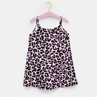 Thumbnail image of Pastel leopard fur II Girl's dress, Live Heroes