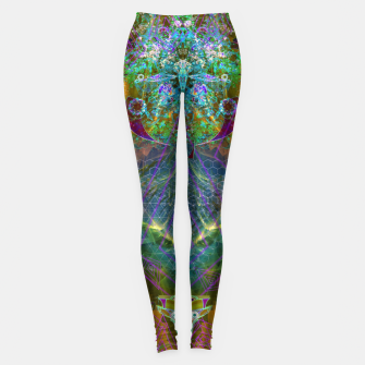 Thumbnail image of Extraterrestrial Palace 7  Leggings, Live Heroes