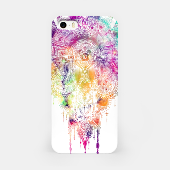 "Miniaturka Eyes in galaxy colorful Mandala - ""separation"" iPhone Case, Live Heroes"