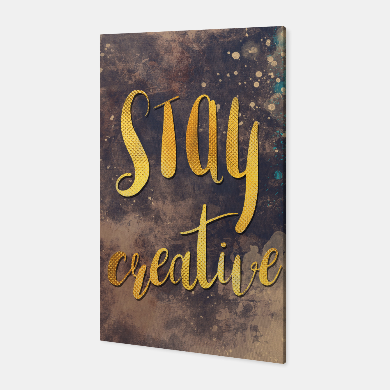 Image of Stay creative #motivationialquote Canvas - Live Heroes