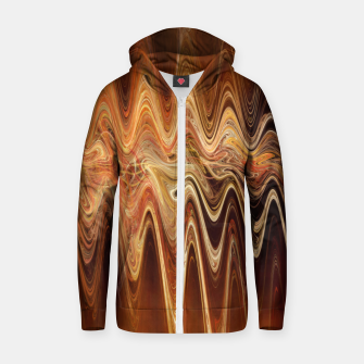 Thumbnail image of Earth Frequency |  Zip up hoodie, Live Heroes