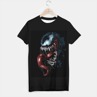 Miniatur Spider Dark Camiseta Regular, Live Heroes