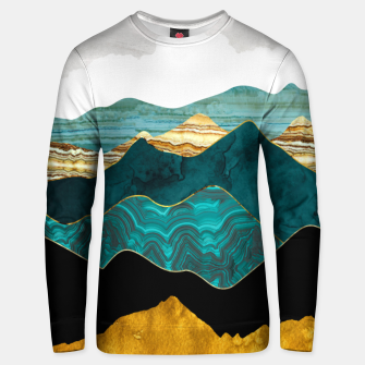 Thumbnail image of Turquoise Vista Unisex sweater, Live Heroes