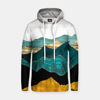 Thumbnail image of Turquoise Vista Hoodie, Live Heroes