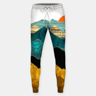 Thumbnail image of Turquoise Vista Sweatpants, Live Heroes