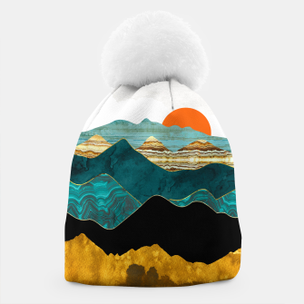 Thumbnail image of Turquoise Vista Beanie, Live Heroes