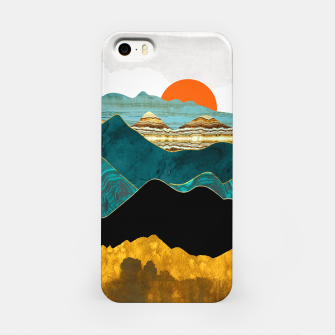 Turquoise Vista iPhone Case thumbnail image