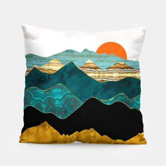 Thumbnail image of Turquoise Vista Pillow, Live Heroes