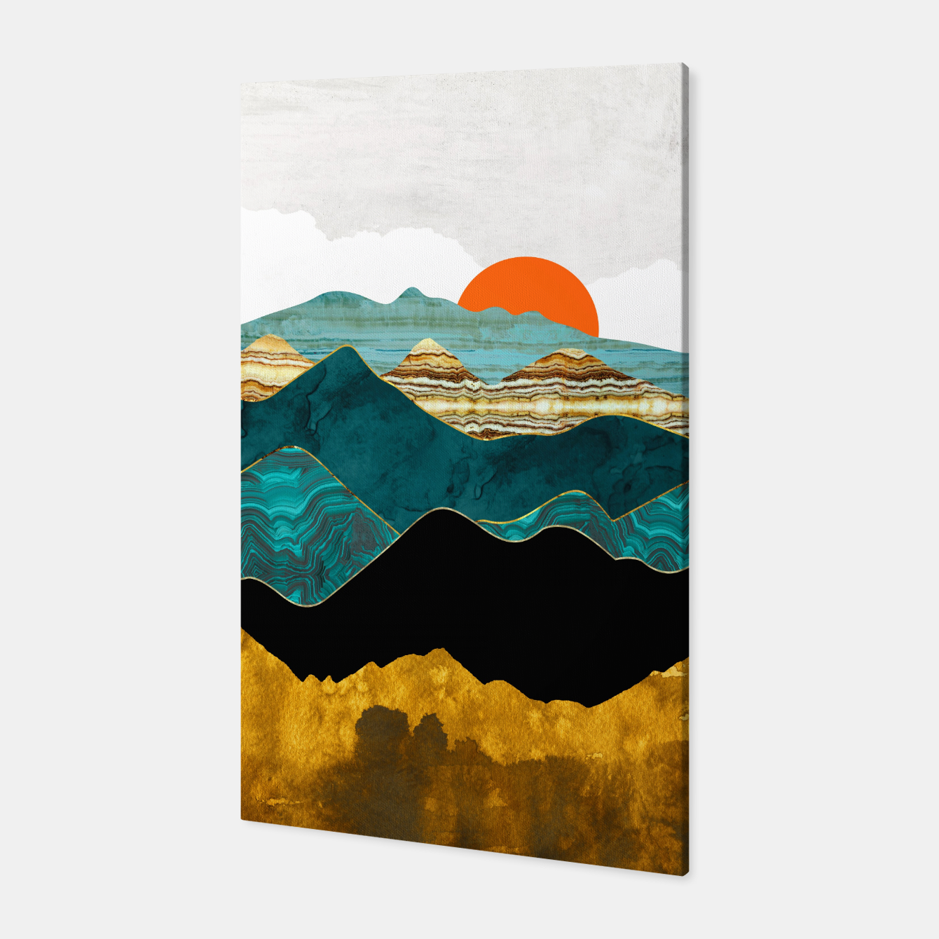 Image of Turquoise Vista Canvas - Live Heroes