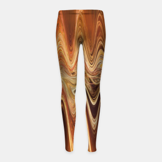 Thumbnail image of Earth Frequency |  Girl's leggings, Live Heroes