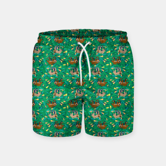 Sloths in the Forest – Swim Shorts thumbnail image