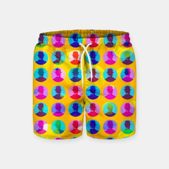 Thumbnail image of The School Master Swim Shorts, Live Heroes