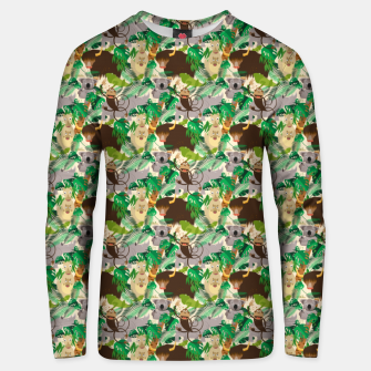 Animals in the Jungle – Unisex sweater thumbnail image