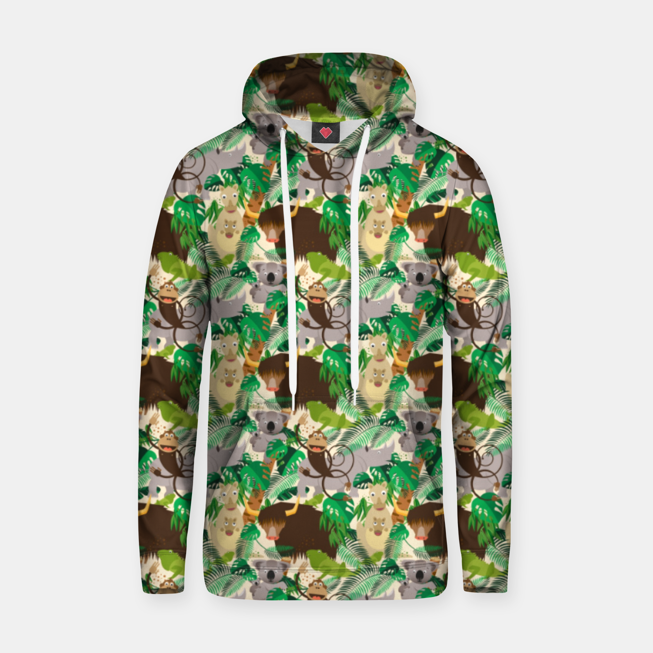 Image of Animals in the Jungle – Hoodie - Live Heroes