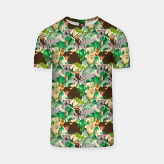 Miniatur Animals in the Jungle – T-shirt, Live Heroes