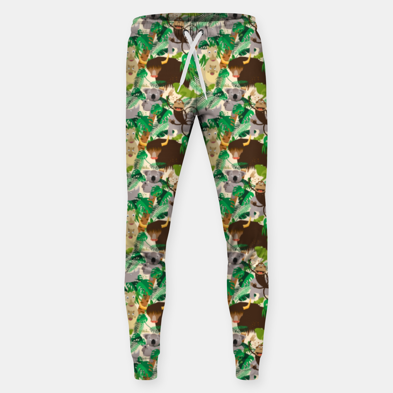 Image of Animals in the Jungle – Sweatpants - Live Heroes