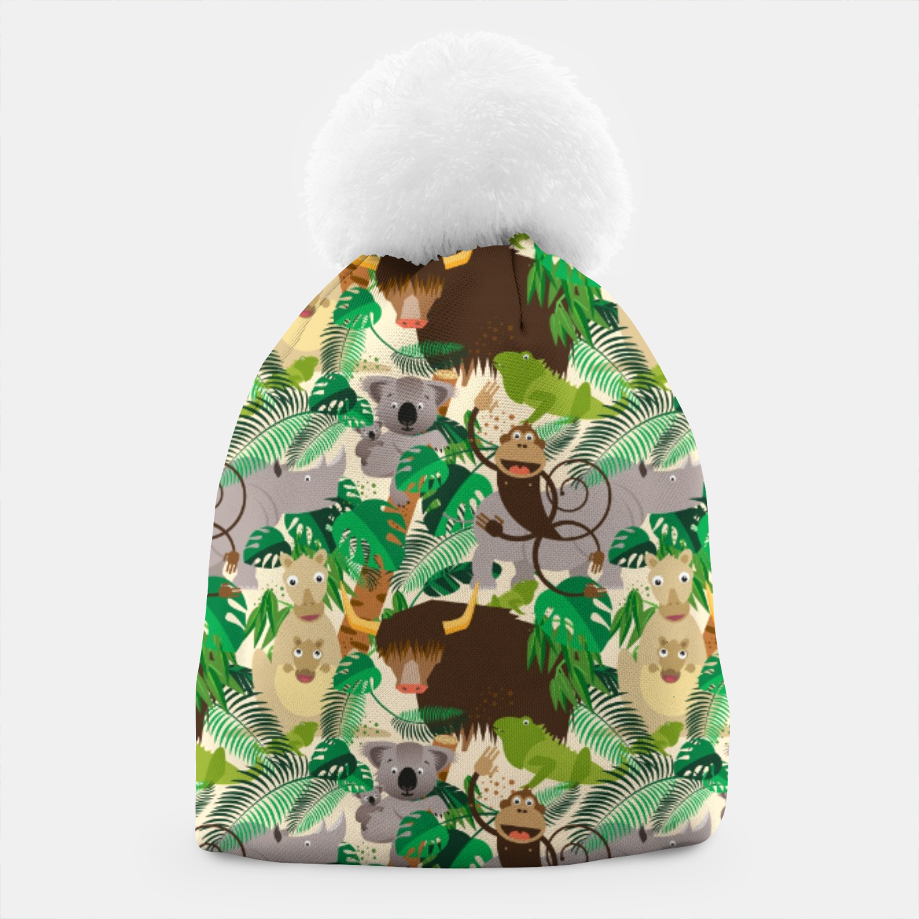 Image of Animals in the Jungle – Beanie - Live Heroes