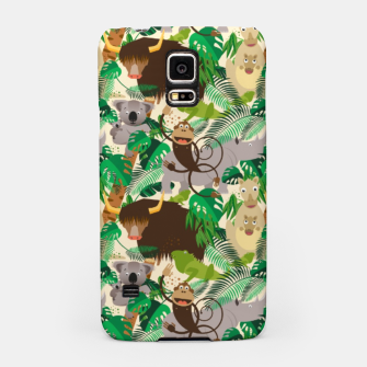 Miniatur Animals in the Jungle – Samsung Case, Live Heroes