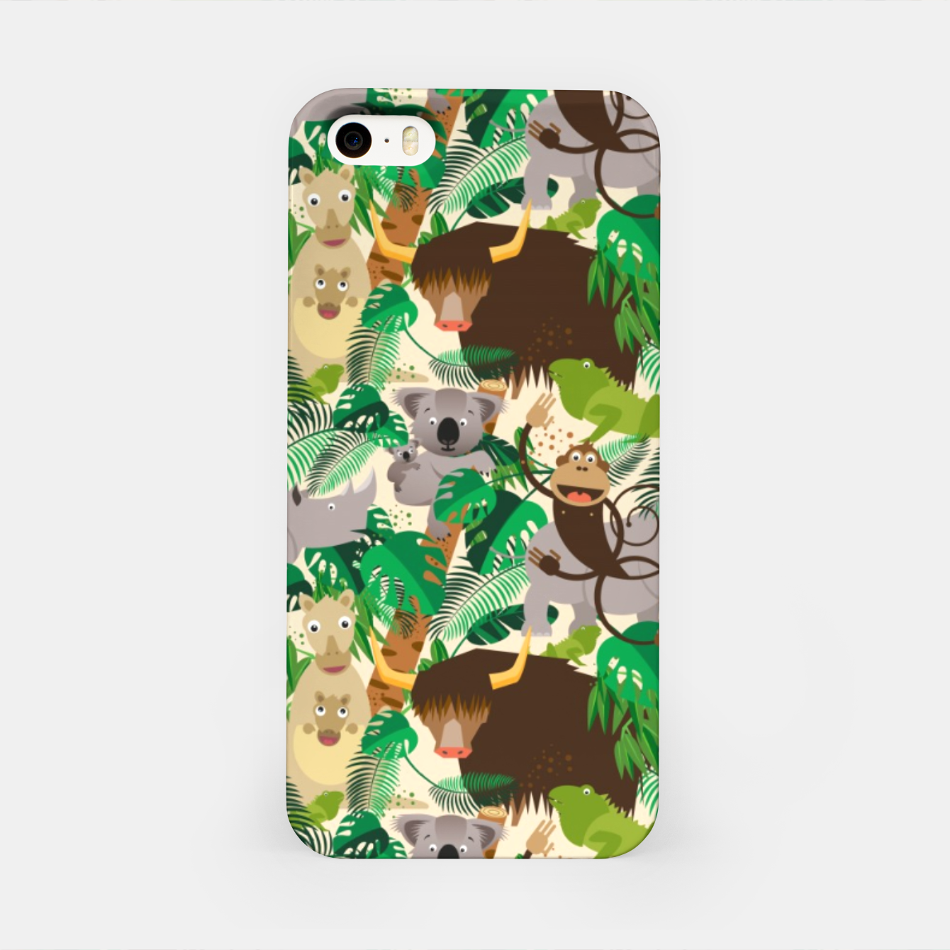 Image of Animals in the Jungle – iPhone Case - Live Heroes