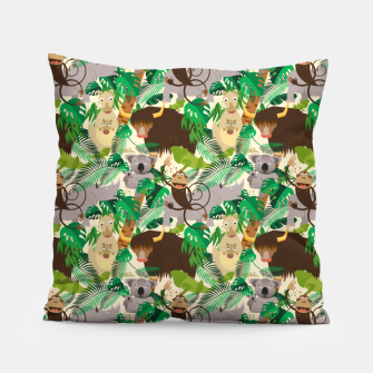 Animals in the Jungle – Pillow thumbnail image