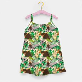 Animals in the Jungle – Girl's dress thumbnail image