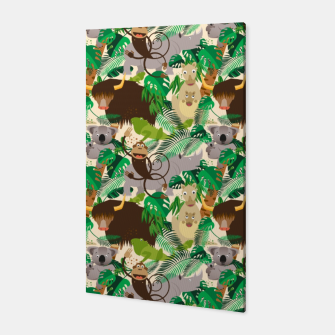 Miniatur Animals in the Jungle – Canvas, Live Heroes