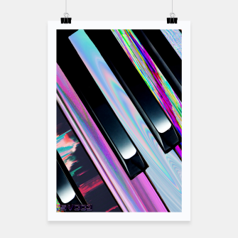 Thumbnail image of Vapor piano Poster, Live Heroes