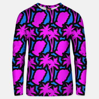 Thumbnail image of Vaporwave pattern Unisex sweater, Live Heroes
