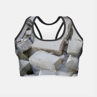 Thumbnail image of stones Crop Top, Live Heroes