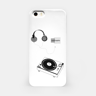 Thumbnail image of Dj headphones iPhone Case, Live Heroes