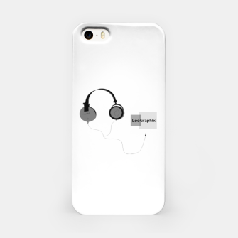 Thumbnail image of headphones iPhone Case, Live Heroes