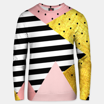 Fall Abstraction Pink Unisex sweater miniature