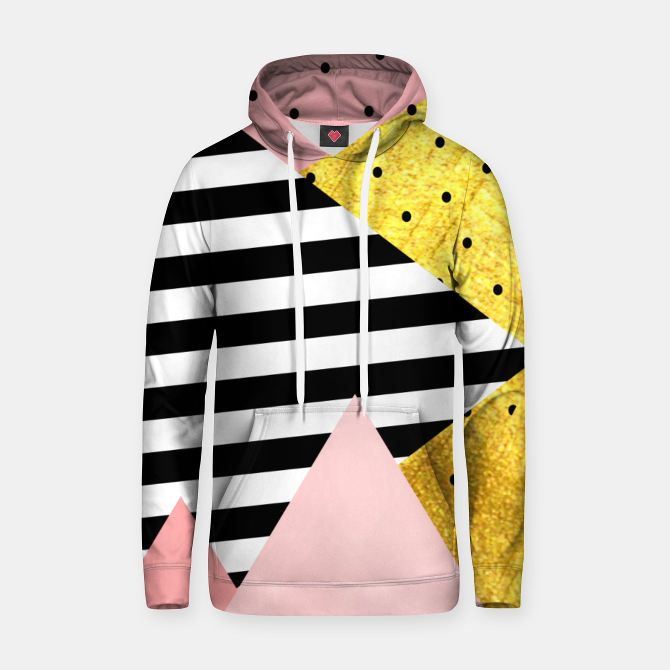 Imagen de Fall Abstraction Pink Hoodie - Live Heroes