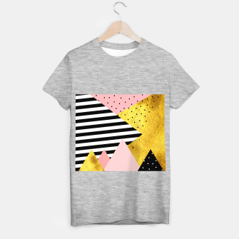 Fall Abstraction Pink T-shirt regular imagen en miniatura