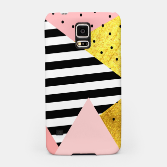 Fall Abstraction Pink Samsung Case miniature