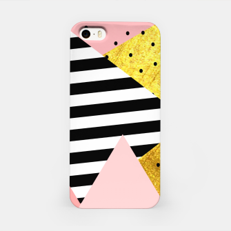 Fall Abstraction Pink iPhone Case imagen en miniatura