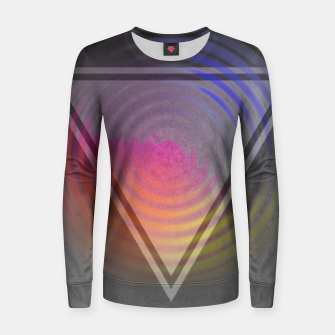 Thumbnail image of Rainbow Triangle Women sweater, Live Heroes