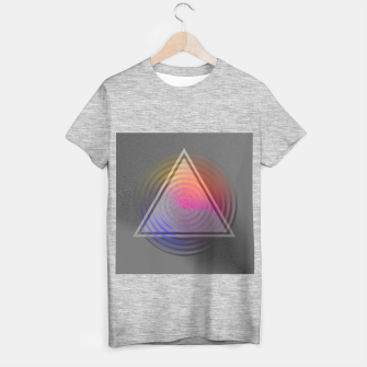 Thumbnail image of Rainbow Triangle T-shirt regular, Live Heroes