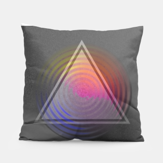 Thumbnail image of Rainbow Triangle Pillow, Live Heroes