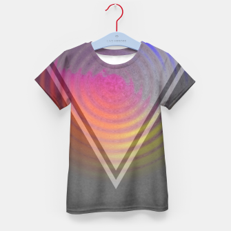 Thumbnail image of Rainbow Triangle Kid's t-shirt, Live Heroes