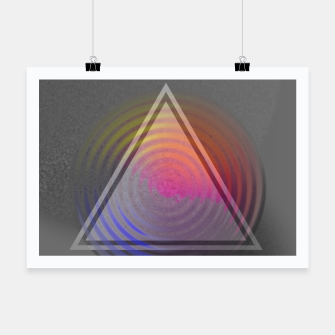 Thumbnail image of Rainbow Triangle Poster, Live Heroes