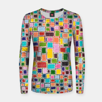 Thumbnail image of Mosaic Women sweater, Live Heroes